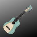 VGS Manoa Ukelele Soprano W-SO-GR